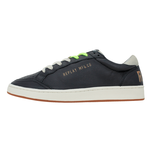 b23caadcf42 Chenu - Ανδρικά παπούτσια casual Replay από δέρμα - Gianna Kazakou Online